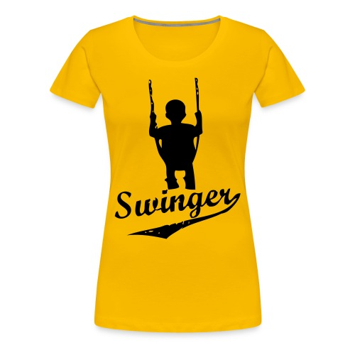 Swinger ladies - Premium-T-shirt dam
