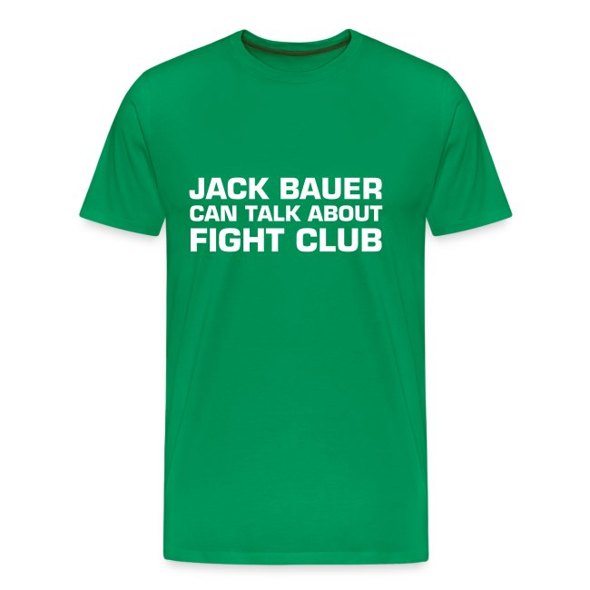 Jack Bauer can talk about Fight Club