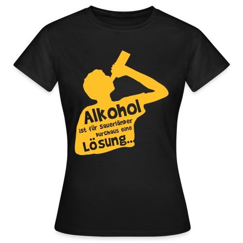 Lösung - Frauen T-Shirt