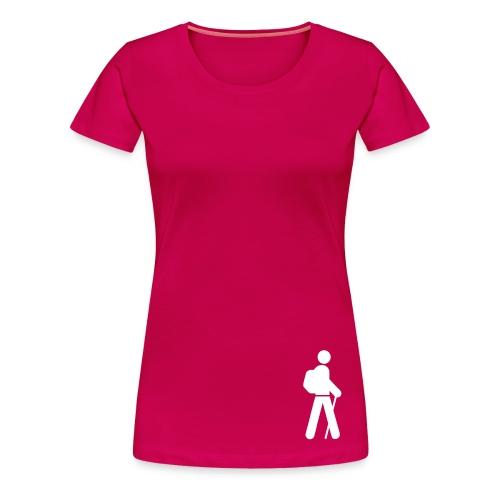 Elle est passée par ici - T-shirt Premium Femme