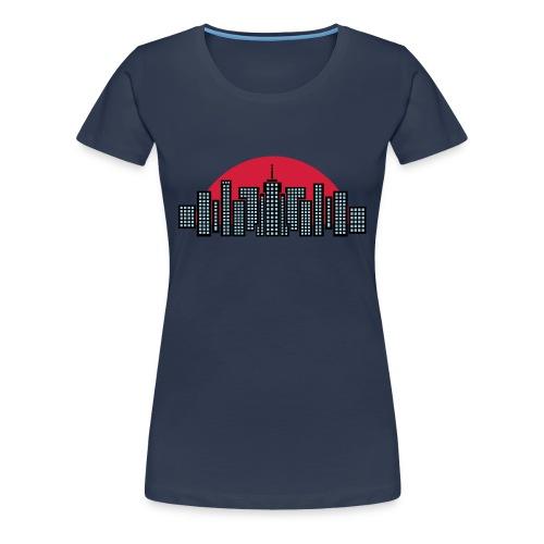 black Manhattan  - T-shirt Premium Femme