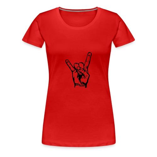 T-Shirt Rock on - T-shirt Premium Femme