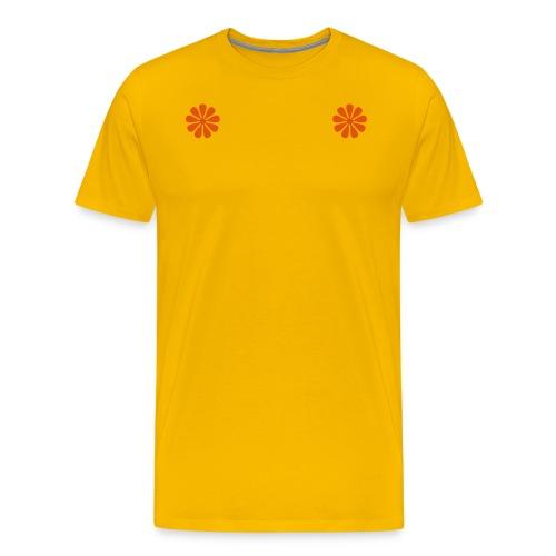Flowers2 - Mannen Premium T-shirt