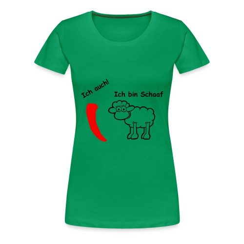 Big is beautiful - Frauen Premium T-Shirt