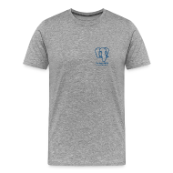 T-Shirts ~ Men's Premium T-Shirt ~ T-Shirt with Slonik logo