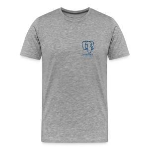 T-Shirt with Slonik logo - Men's Premium T-Shirt