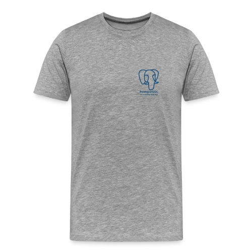 T-Shirt with Slonik logo - Men's Premium T-Shirt