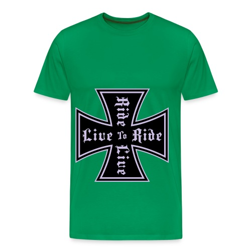 live to ride - T-shirt Premium Homme