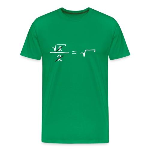 Mathematik für Fortgeschrittene - Männer Premium T-Shirt