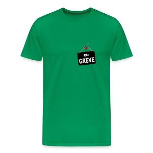 En Grève - T-shirt Premium Homme