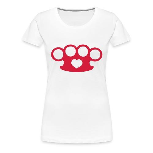 Tough love ladies - Premium-T-shirt dam