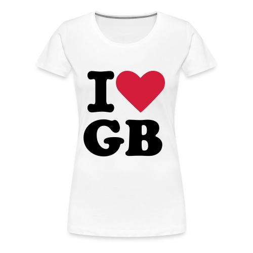 I Heart George - Women's Premium T-Shirt