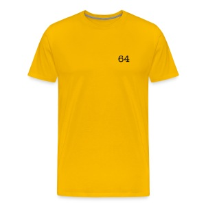 64 Yellow - Men's Premium T-Shirt