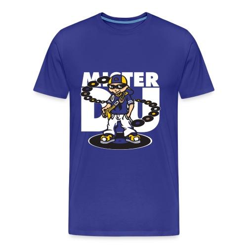 Mister dj and vinyls - Men's Premium T-Shirt