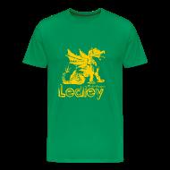 T-Shirts ~ Men's Premium T-Shirt ~ Ledley Celtic Dragon