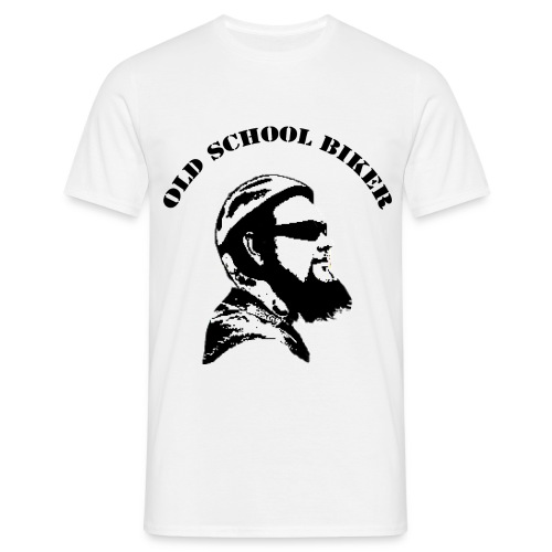 Oldschool Biker - Männer T-Shirt