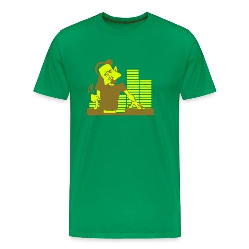 dj green - Camiseta premium hombre