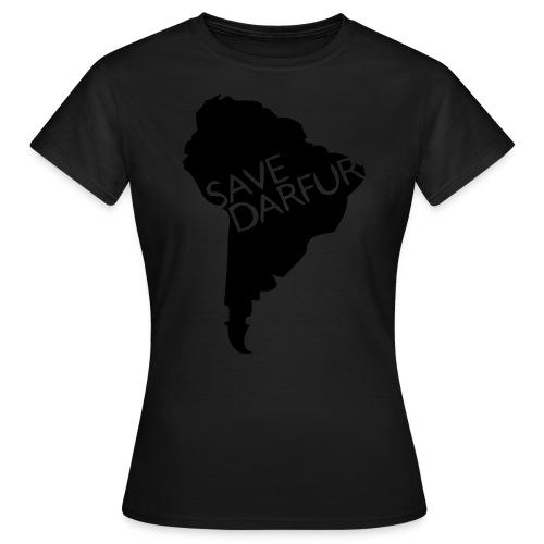 Save Darfur ladies - T-shirt dam