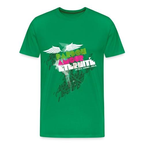 pardon, amour, eternité - T-shirt Premium Homme