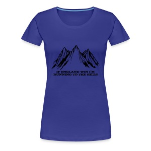 Running to the Hills - Women's Premium T-Shirt