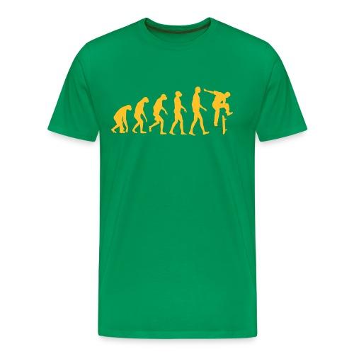 Evolution Skateboard - Männer Premium T-Shirt