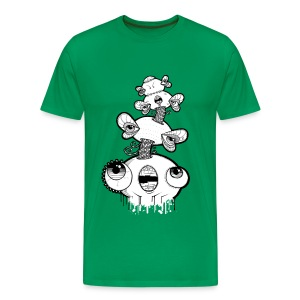 mydogjelly (jelly front) - Men's Premium T-Shirt