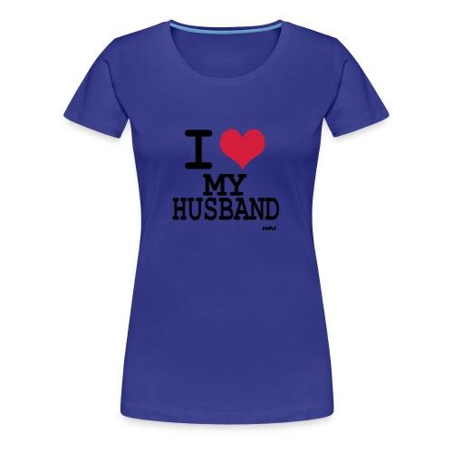 Husband - Frauen Premium T-Shirt
