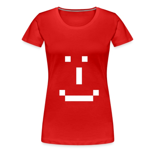T-Shirt #1 - Smiley 1 - Women's Premium T-Shirt