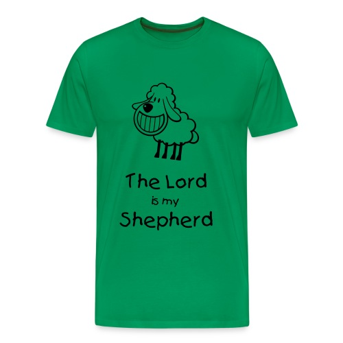 The Lord is my Shepherd - Men's Premium T-Shirt