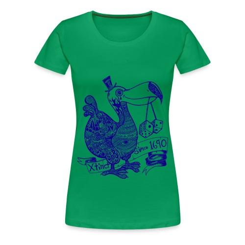 Wotto Dodo 3XL Shirt - Frauen Premium T-Shirt