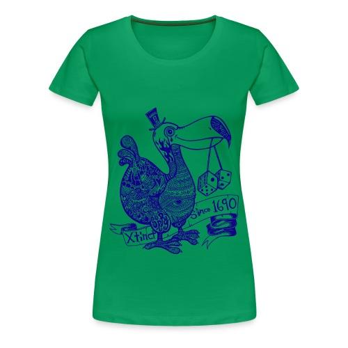 Wotto Dodo 3XL Shirt - Frauen Premium T-Shirt