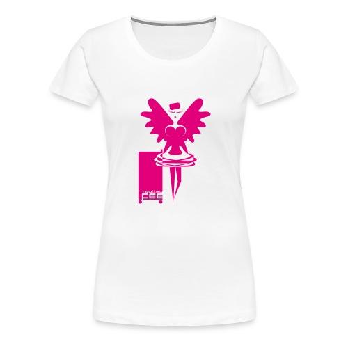 Trolleyfee - Frauen Premium T-Shirt