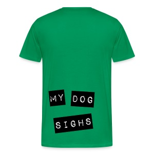 2 sided mydog (jelly front) - Men's Premium T-Shirt