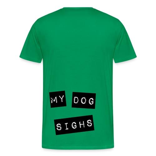 2 sided mydog (jelly front) - Men's Premium T-Shirt