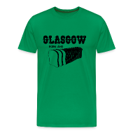 T-Shirts ~ Men's Premium T-Shirt ~ Glasgow Born & Bread