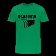 T-Shirts ~ Men's Premium T-Shirt ~ Glasgow Born & Bread