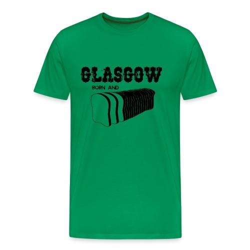 Glasgow Born & Bread - Men's Premium T-Shirt