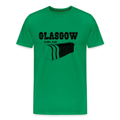 Glasgow Born & Bread - Men's Premium T-Shirt