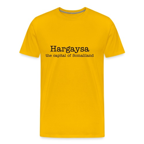 Hargaysa - the capital of Somaliland - Men's Premium T-Shirt