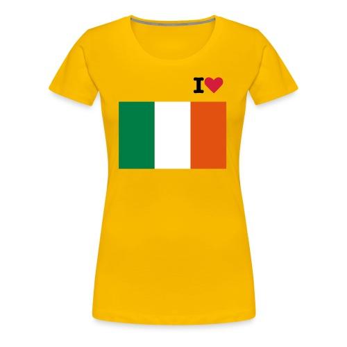 I love Ireland - Women's Premium T-Shirt