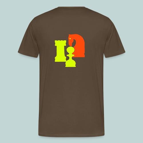 Figurengruppe 6 beidseitig - Männer Premium T-Shirt