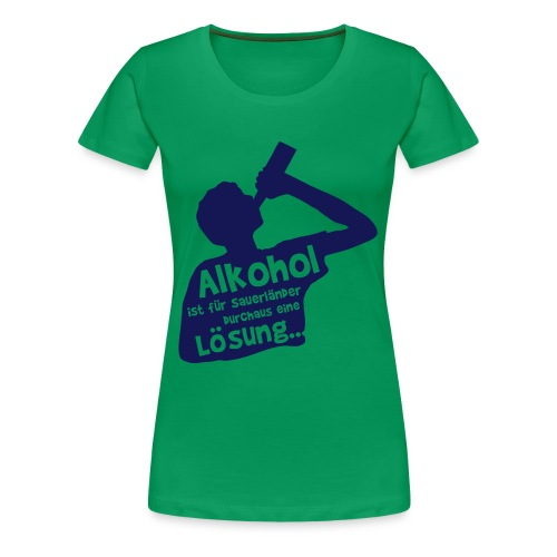 Lösung - Frauen Premium T-Shirt