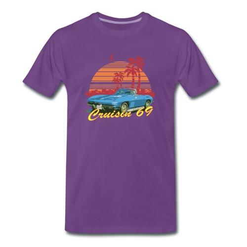 Cruisin 69 T shirt - Men's Premium T-Shirt