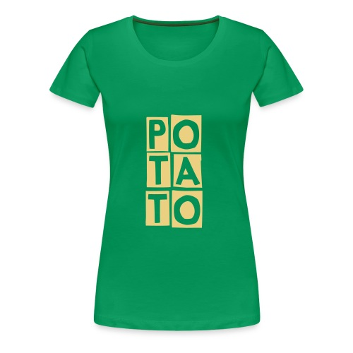 Potato - Women's Premium T-Shirt