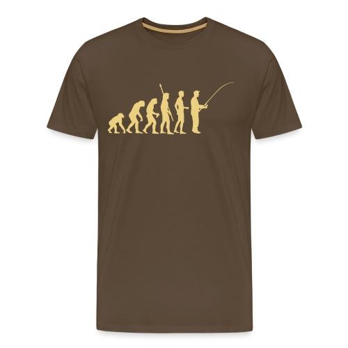 Evolution Fishing - Männer Premium T-Shirt