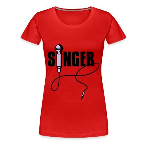 Canto - Camiseta premium mujer