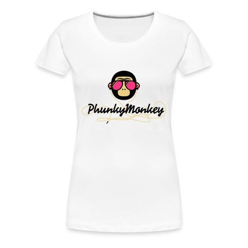 Livinston white - T-shirt Premium Femme