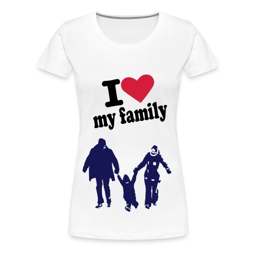 J'M MA FAMILLE - T-shirt Premium Femme