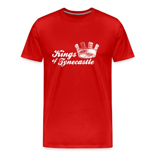 Kings of Tynecastle - Men's Premium T-Shirt