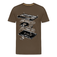 Koszulki ~ Koszulka męska Premium ~ Kolekcja TAPE Art: 0088